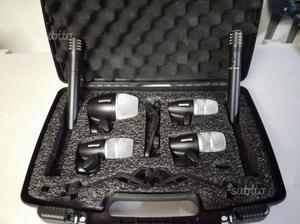Shure drum kit pgdmk6 kit 6 microfoni per batteria