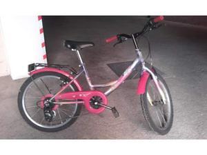 Bicicletta per bambina con i cambi