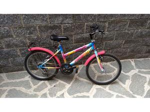 Mountain bike da bambina