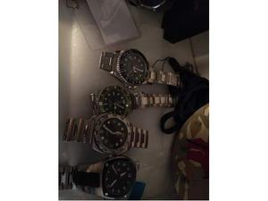 Lotto di 5 orologi