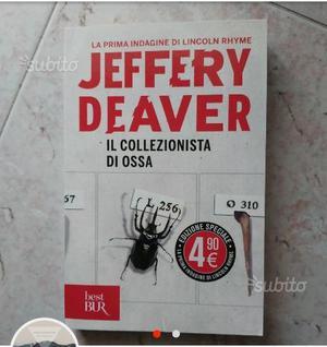 Il collezionista di ossa di Jeffery Deaver