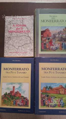 Lotto libri Casale Monferrato e Monferrato