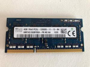 Modulo Memoria Ram Sodimm Ddr3 4 Gb