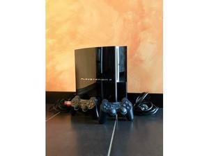 PlayStation 3 Fat 20GB con cavi e 2 Joystick