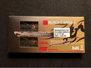4GB GEIL Black Dragon DDR CL7 RAM