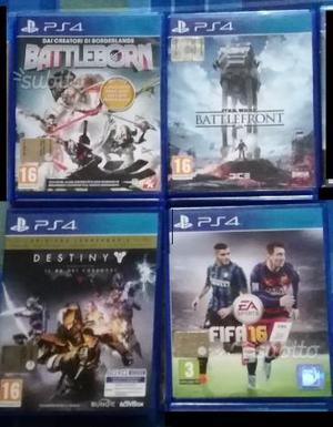 Giochi Playstation 4 Ps4 Xbox One