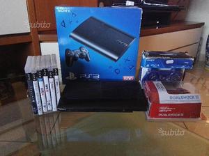 Ps3 ultraslim 500GB + 2 controller + 6 giochi