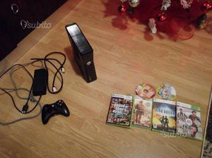 Xbox360 slim 250gb + 7 giochi