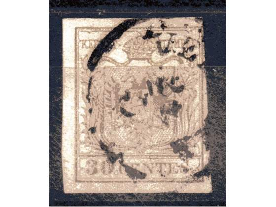 Lombardo Veneto cent.30 usato