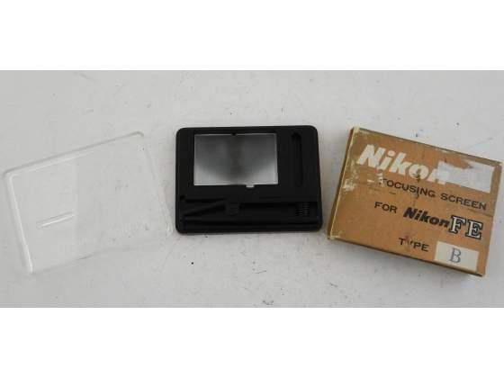 Nikon Focusing SCREEN Vetrino Scatola Type B per Nikon FE