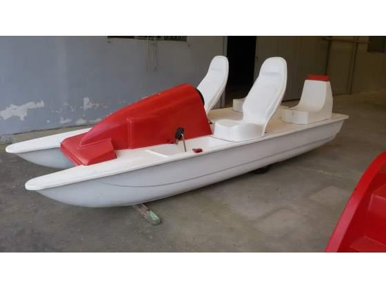 Barca in vetroresina 4 mt posot class for Piscina vetroresina usata