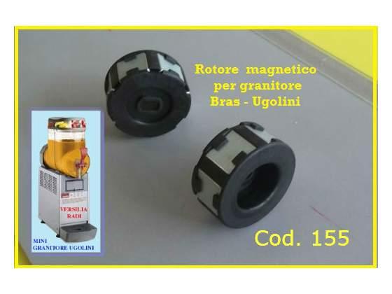 Rotore magnetico per granitore Bras