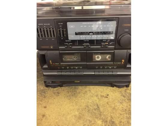 Stereo vintage con 2 casse come nuovo