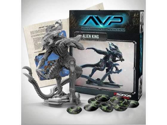 AvP Tabletop Game The Hunt Begins Expansion Pack Alien King