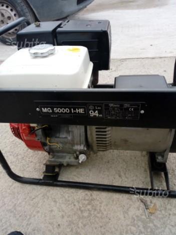 Generatore honda gv 100 posot class for Generatore honda eu20i usato