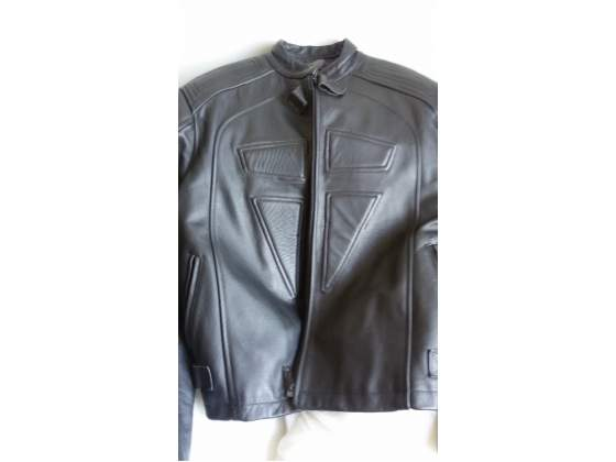 Giubbotto in vera pelle leather per moto