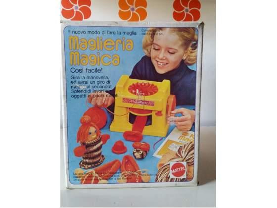 Maglieria Magica Mattel anni 70 vintage