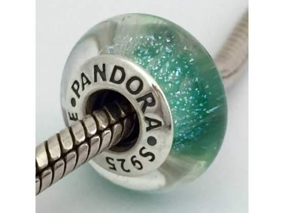 Pandora Charm  DISNEY ARIEL verde mare