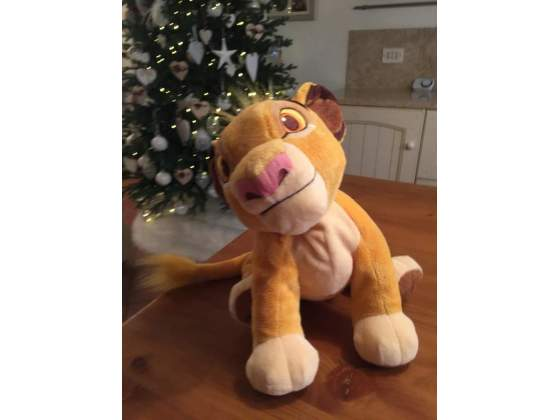 Peluche Simba (Re Leone) originale Disney