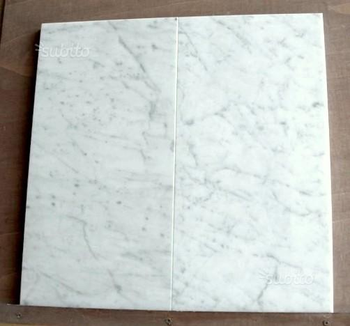Piastrelle per pavimento in marmo Bianco Carrara