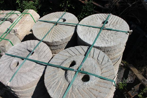 Ruote macina in pietra diametro cm pavimento