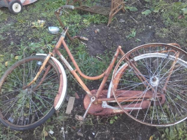 Bici Con Freni A Bacchetta Marca Robur Posot Class