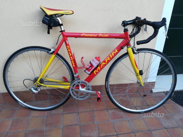 Bici corsa Marin Campagnolo veloce