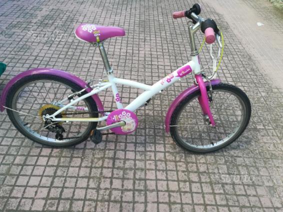 """Bicicletta bambina 24"""" età 7/10 anni"""
