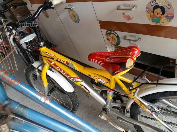 Bicicletta bimbo e bimba 7/8 anni
