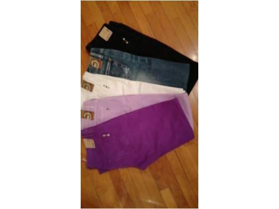 Jeans Met di diversi colori taglia 28 e viola scuro taglia