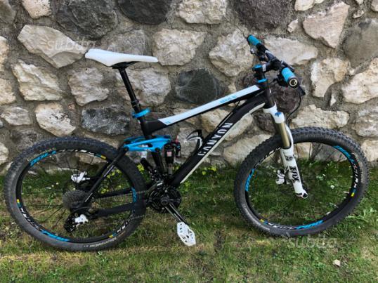 MTB bike bici canyon nerve al+7.0 full AM perfetta