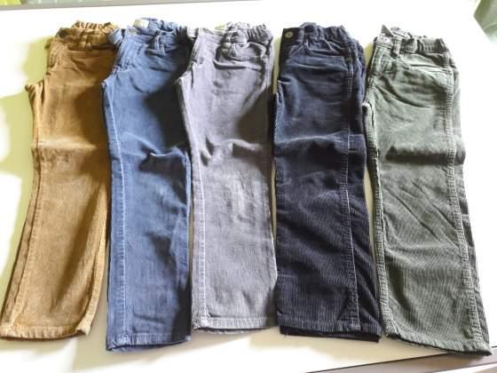 Pantaloni in Velluto per Bambino