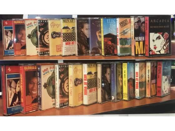 Audio Cassette Originali Italiani e Stranieri