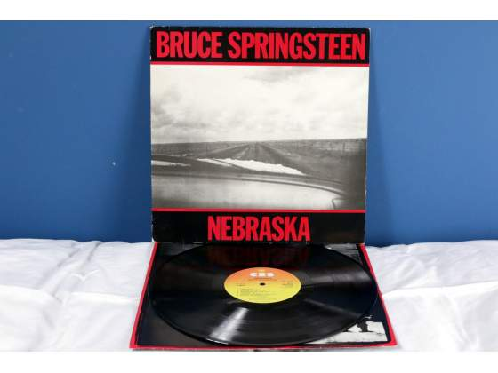 Bruce Springsteen NEBRASKA LP Vinile *EX/EX* UK  RaRo