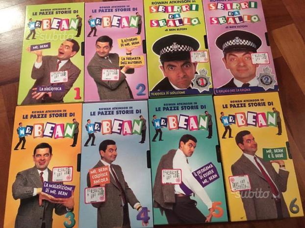 Collezione Mr Bean vhs
