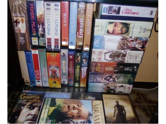 FILM RELIGIOSI collezione vhs