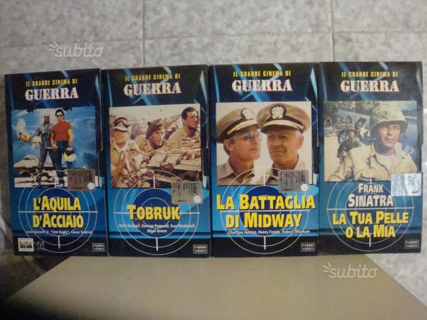 Il Grande Cinema di Guerra N° 34 Vhs Fabbri Video