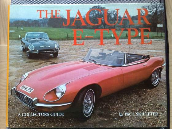 "Jaguar ""E"" type book by Paul Skilleter libro in inglese"