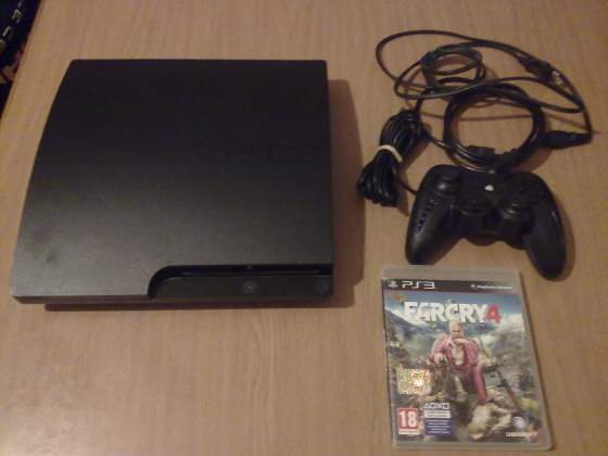 Playstation 3 slim 500 giga hdmi + farcry 4