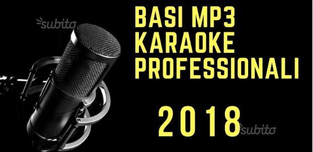 Raccolta Basi musicali Mp3 Karaoke Testo-Cori