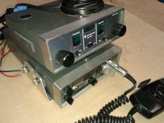 Radio Ricetrasmittente completa di supporto antenna.