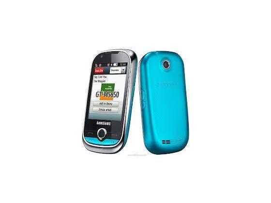 Telefono smartphone cellulare SAMSUNG GT-M CORBY WIFI