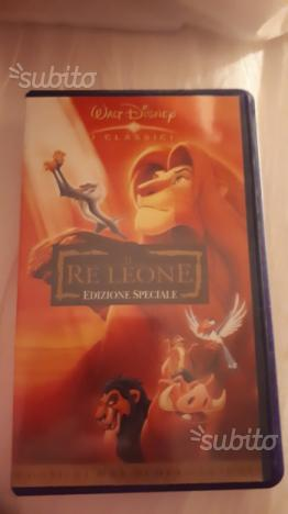 Vhs disney il re leone originale