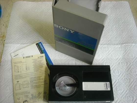 Videocassetta SONY BETACAM BCT-30G
