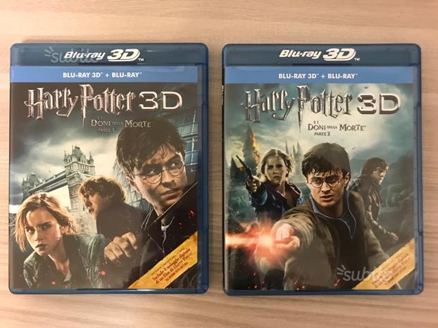 Harry Potter e i doni della morte 1 e 2 bluray 3d