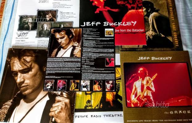 Jeff Buckley The Grace Eps - Box 5 LP perfetti