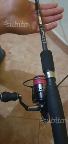 Canna da pesca in fibra di carbonio