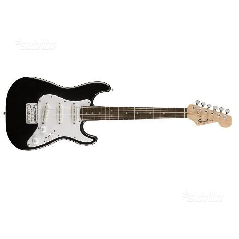 Chitarra Squier Mini RW BLK 3/4 - Set up incluso