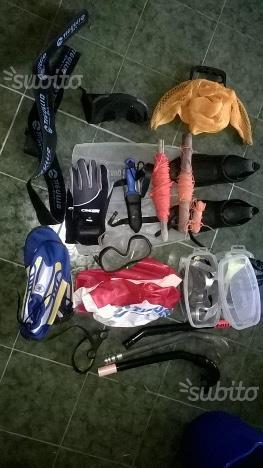 Diversi accessori sub
