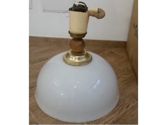 Lampadario da soffitto a sospensione in vetro 45cm
